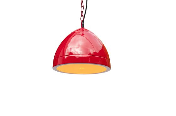 Këpsta red hanging lamp Clipped