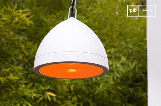 Këpsta white hanging lamp