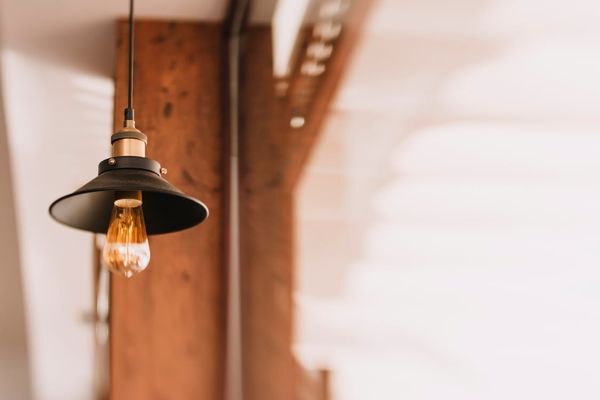industrial light for interior design