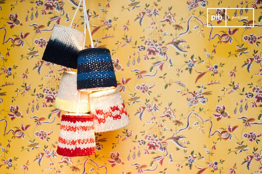 Knitted lamps Maty