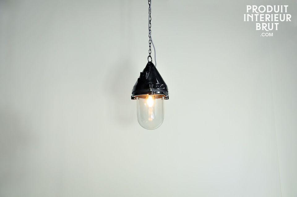 This metal light brings back memories of old ship lights