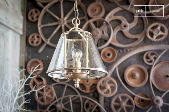 Lacanau glass pendant lamp