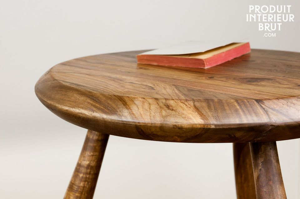 Occasional table or stool, a touch of wood for your interior
