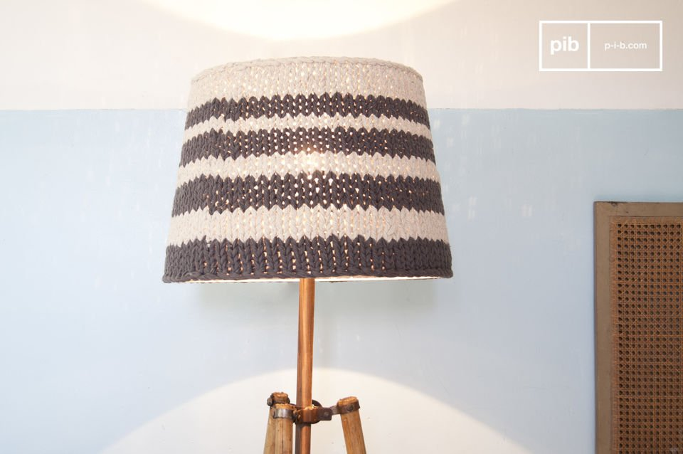 Lampshade Paimpol grey