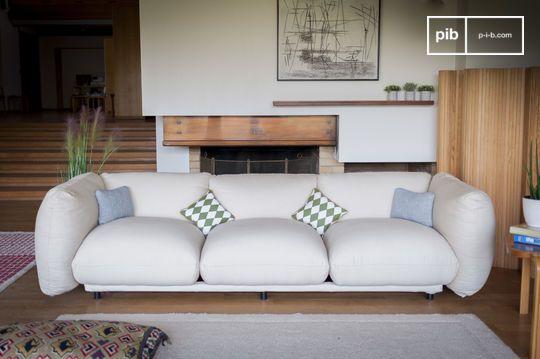 Large 4-seater sofa Balloo
