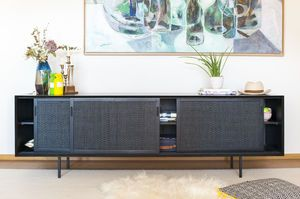 Large black Hevaya sideboard