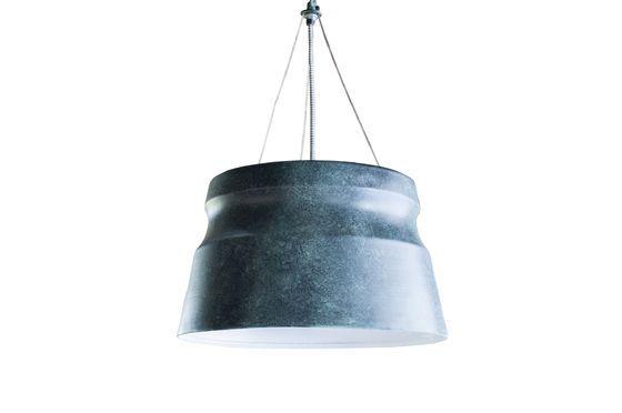Large Borajupe pendant lamp Clipped