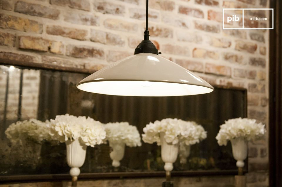 Large ceramic Suspension lamp Pornic
