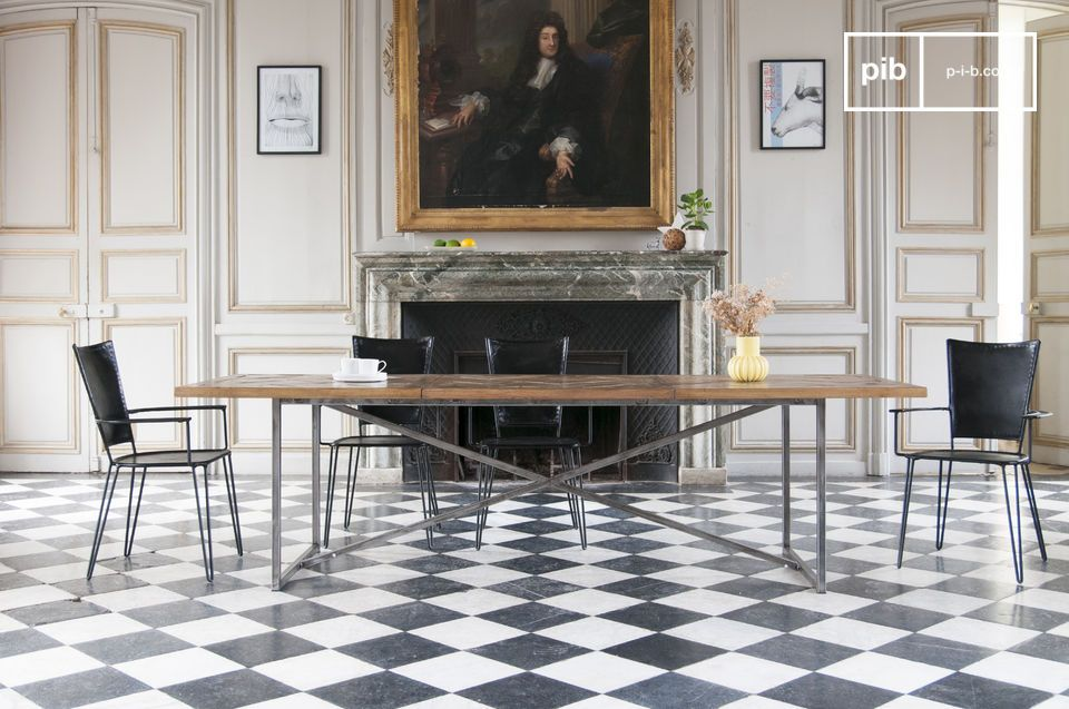 This large format table will be the must-have piece in your dining room.