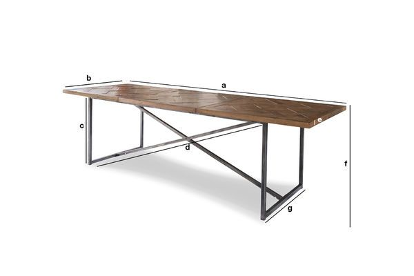 Product Dimensions Large dining table Queens
