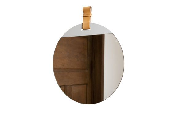 Large entrance mirror with strap Clipped