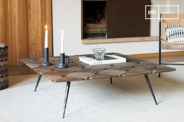 Large Lincoln coffee table