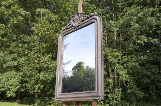 Large mirror Senlis