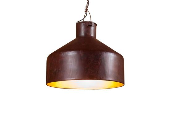 Large neo-industrial ceiling light Clipped