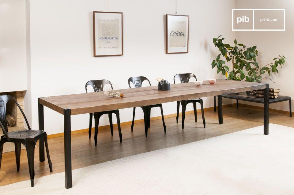 Large oak dining table Barcelona