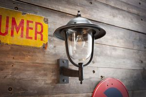 Large outdoor wall lamp Lizuret