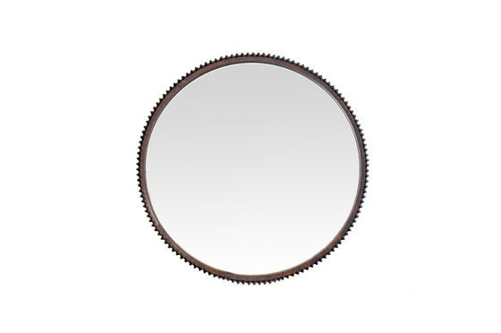 Large round mirror Nathan Clipped