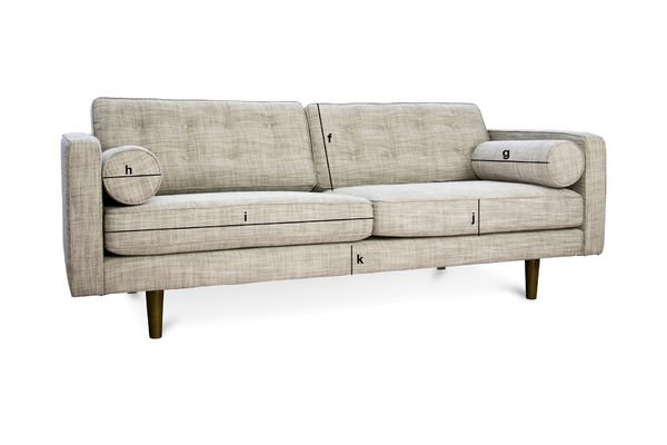 Product Dimensions Large Svendsen sofa