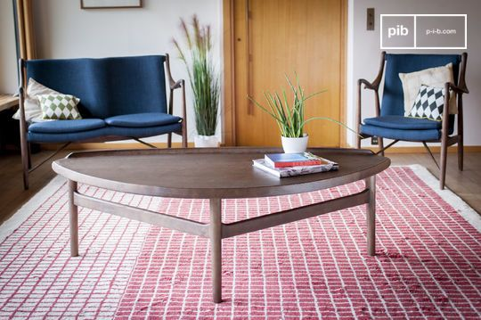 Large triangular coffee table Arne