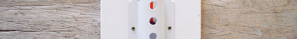 Material Details Large wall thermometer