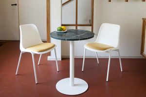 Lasby green marble bistro table