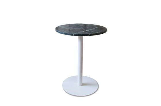 Lasby green marble bistro table Clipped