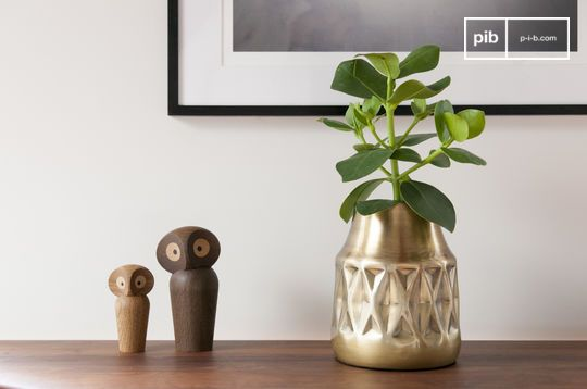 Layti Brass Vase