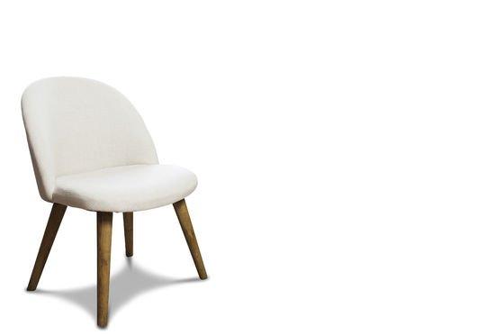 Lear cream chair Clipped