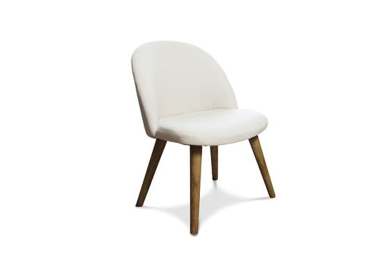 Lear cream chair Clipped