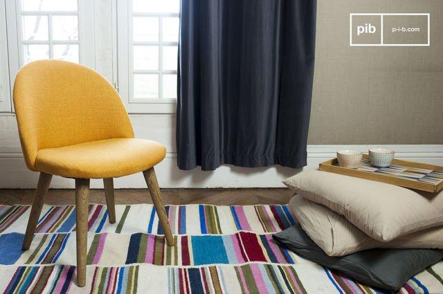 Lear Mustard chair