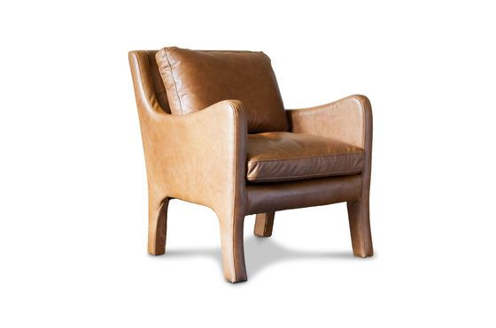 Leather Armchair Edinburgh Clipped