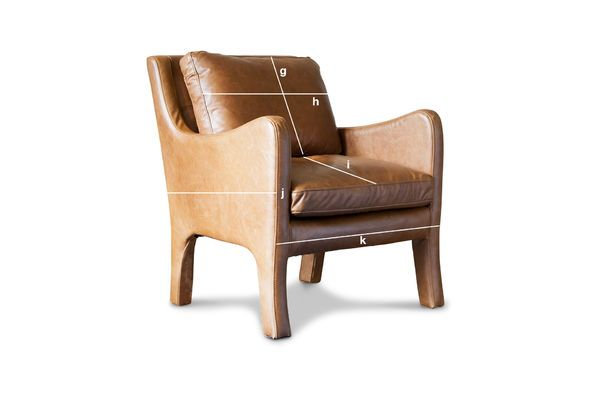 Product Dimensions Leather Armchair Edinburgh