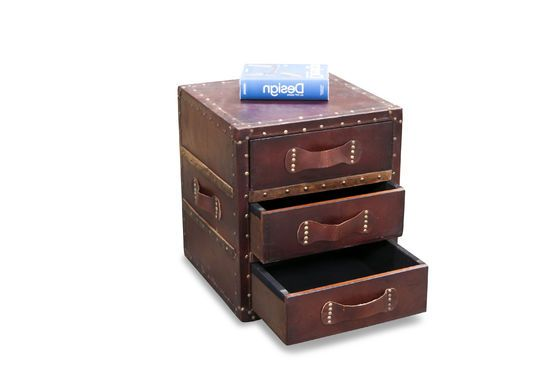Leather chest of drawers Edgar Clipped