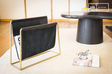 Leather magazine holder Liten Jorgen