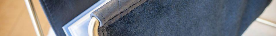 Material Details Leather magazine holder Liten Jorgen