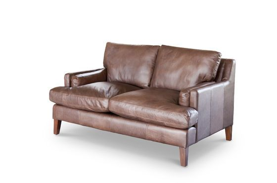 Leather sofa Sanary Clipped