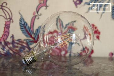 Led bulb 13cm  with vintage filament