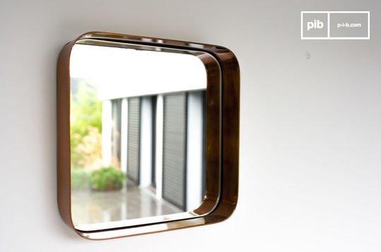 Lena square mirror