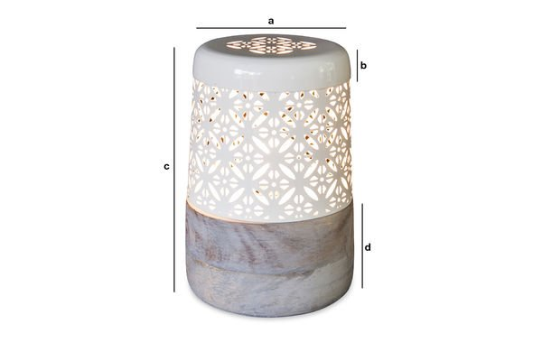 Product Dimensions Lënie table lamp