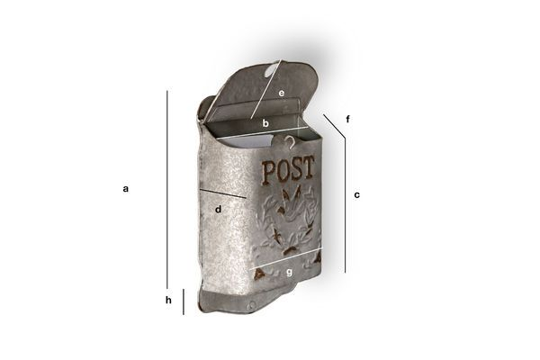 Product Dimensions Letter box Post
