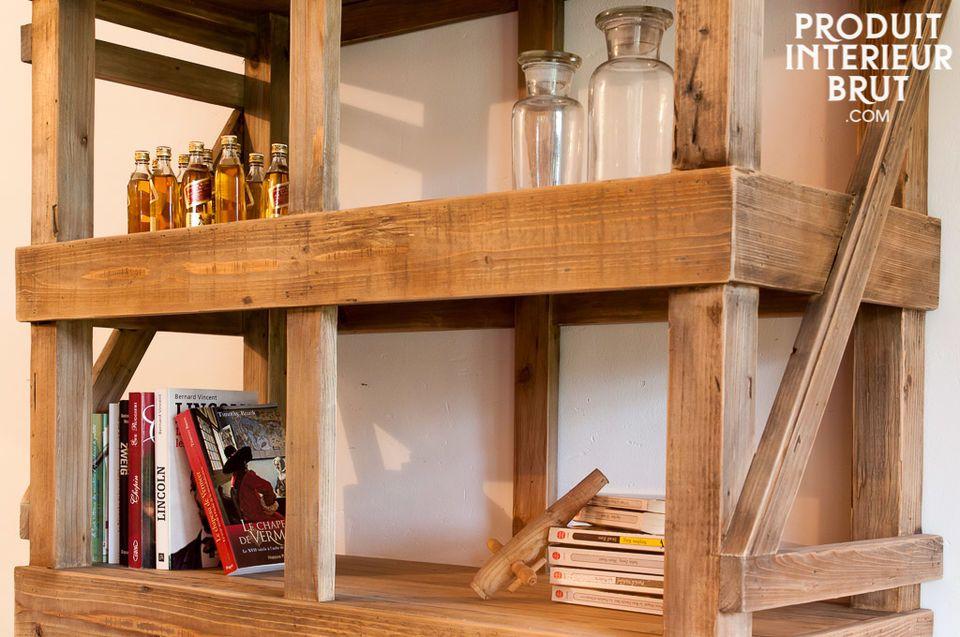 Wooden workshop style furniture
