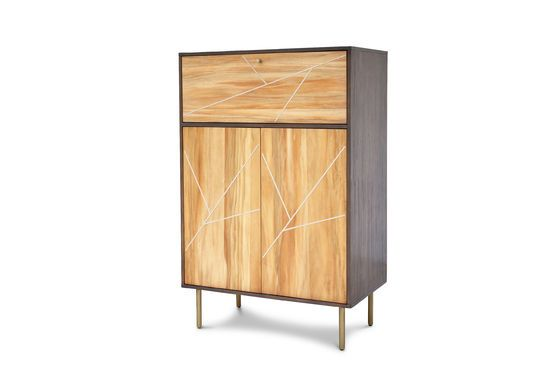 Linéa wooden Cabinet Clipped