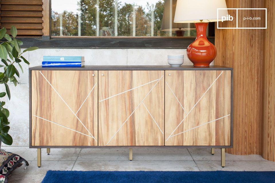 Linéa wooden sideboard