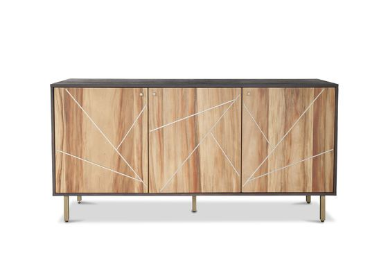 Linéa wooden sideboard Clipped