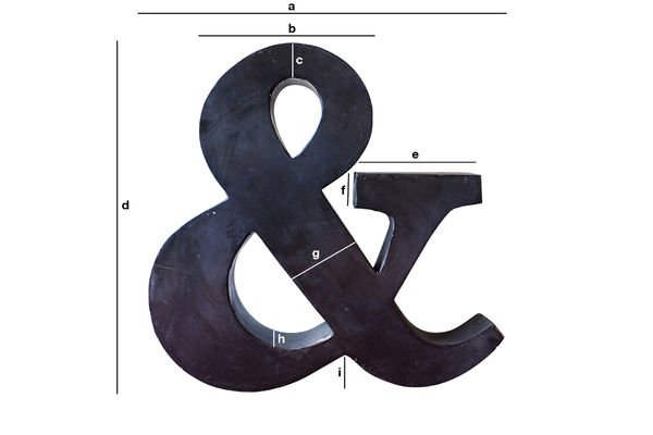 Product Dimensions Little Ampersand