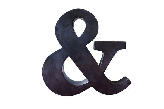 Little Ampersand Clipped