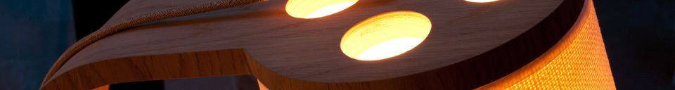 Material Details Lodge wooden standard light
