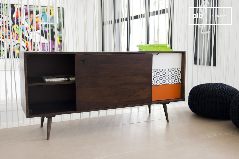 A piece of storage furniture in pure scandinavian design