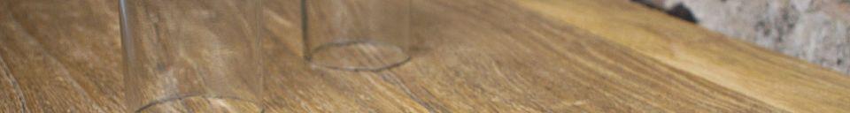 Material Details Long console Soho Loft