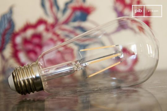 Long LED Bulb (with) vintage filament